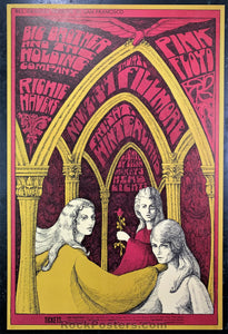 AUCTION - BG91 - Pink Floyd Richie Havens - Fillmore & Winterland - Condition - Near Mint Minus