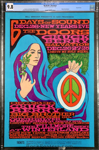 BG-99 - The Doors, Jefferson Airplane,  Big Brother - Fillmore Auditorium - Condition - Near Mint