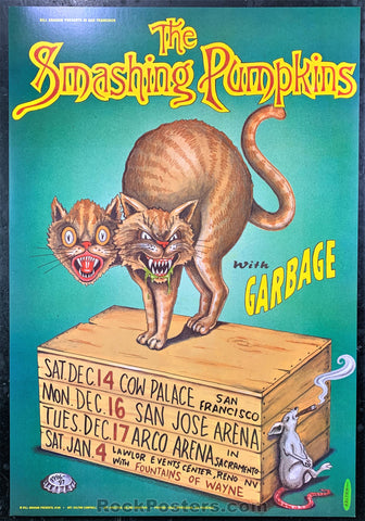 BGP-158 - Smashing Pumpkins Poster - Cow Palace - Condition - Near Mint