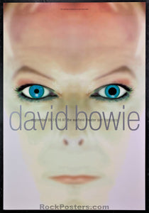 BGP-176 - David Bowie Poster - Warfield Theater - Condition - Near Mint Minus