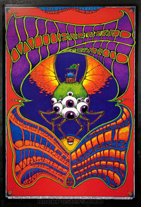BGP-221 - Widespread Panic Poster - Warfield Theater - Condition - Near Mint Minus
