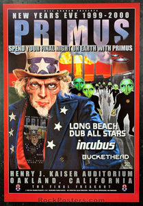 BGP-229 - Primus Poster - Henry J. Kaiser Auditorium - Condition - Near Mint