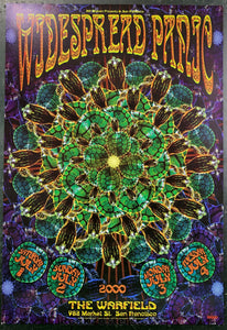 BGP-241 - The Widespread Panic Poster - Warfield Theater - Condition - Excellent