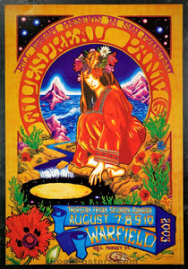 BGP-305 - Widespread Panic Poster - Warfield Theater - Condition - Near Mint Minus
