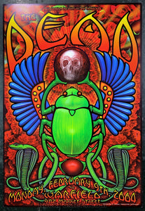 BGP-120 - The Dead Poster - Warfield Theater - Condition - Near Mint Minus