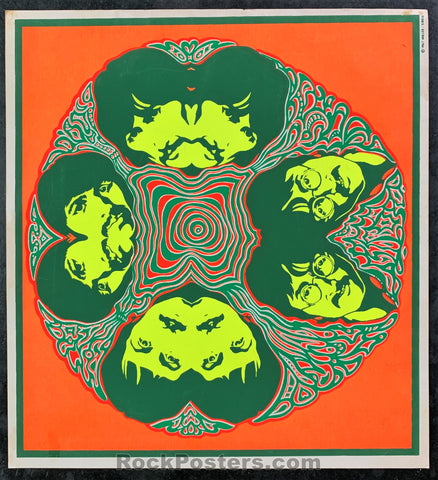 AUCTION - Beatles - Psychedelic 1967 Handbill - Condition - Excellent