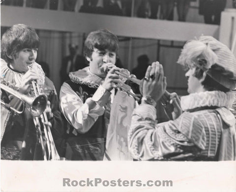 The Beatles - 1964 Globe Photo - Excellent