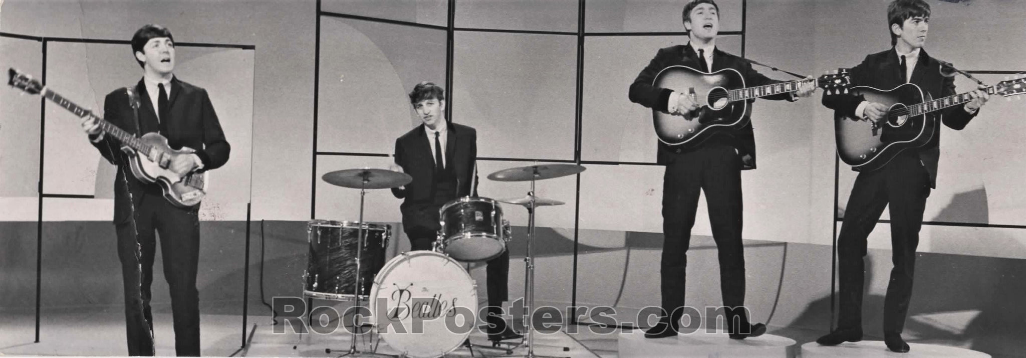 The Beatles - ABC Television Small Photo - Very Good