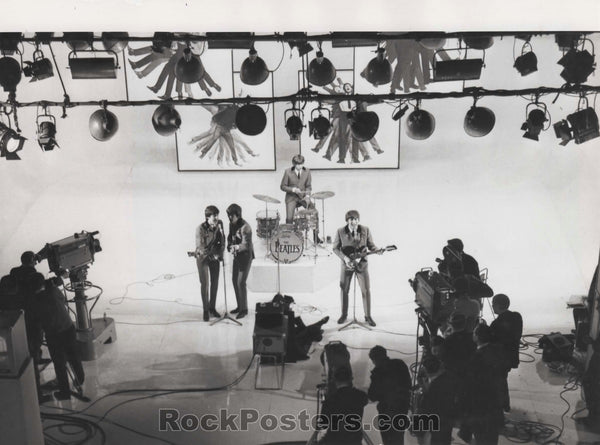 The Beatles - Hard Day's Night 1964 Photo - Scala Theatre - Excellent