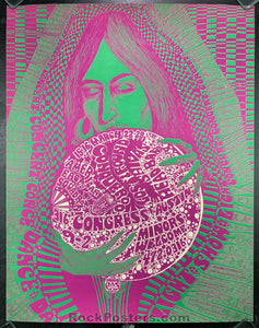 AUCTION - Vulcan Gas 17 -  Shiva's Headband Texas Concert Poster - Condition - Excellent