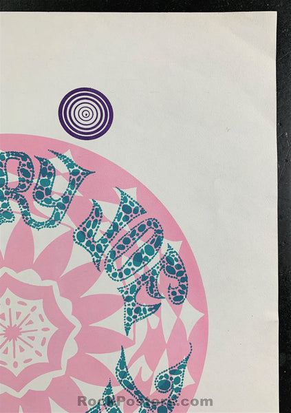 AUCTION - The Doors -  Santa Barbara Concert 1967 Poster - Condition - Near Mint