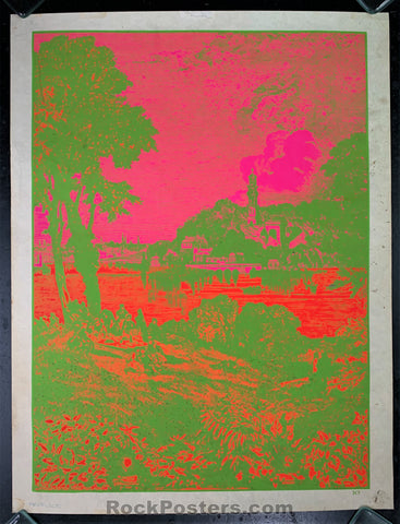AUCTION - Psychedelic - Hambly Black Light Head Shop Poster - 1967/68 - Very Good