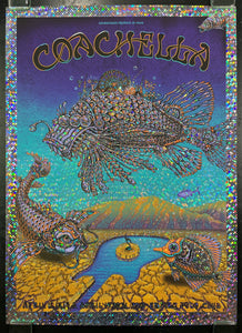 AUCTION - Emek - Coachella '13 Silkscreen - Holodot Foil - Edition 1 of 1 - Mint