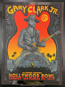 AUCTION - Emek Gary Clark, Jr. -  Hollywood '19 Silkscreen RARE Foil Variant Ed. of 25 - Condition - Near  Mint