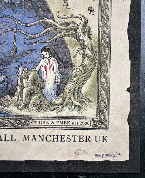 AUCTION - Emek - Nick Cave Manchester '06 - Velvet Edition of 6 - Near Mint