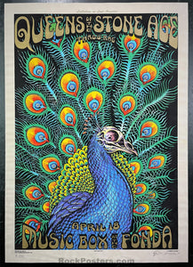 AUCTION - Emek - Queens of the Stone Age - Los Angeles '05 - Cream Velvet - Edition of 4 - Excellent