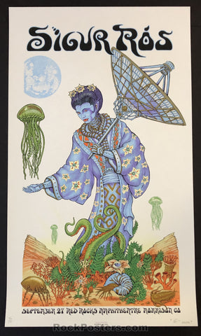 AUCTION - Emek - Sigur Ros Morrison '08 - Skyless Variant Silkscreen - Edition of 10 - Condition - Mint