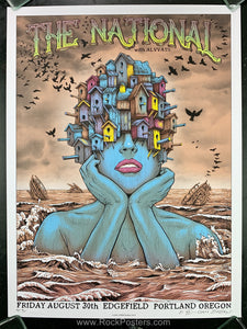 AUCTION - Emek The National -  Portland '19 Silkscreen Artist Proof Edition of 15- Condition - Mint