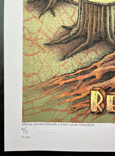 AUCTION - Emek - Flaming Lips/Ween - Morrison '06 - Black Sky - Edition of 15 - Near Mint