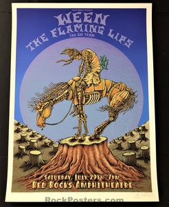AUCTION - Emek - Flaming Lips/Ween - Morrison '06 - 1st Edition - Mint