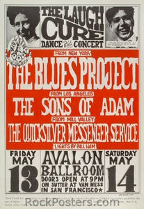 FD8 - Blues Project Poster - Avalon Ballroom (13-May-66) Condition - Excellent