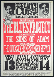 FD8 - Blues Project Poster - Avalon Ballroom (13-May-66) Condition - Very Good
