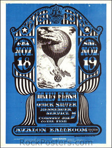 FD35 - Daily Flash Handbill - Avalon Ballroom (18-Nov-66) Condition - Excellent