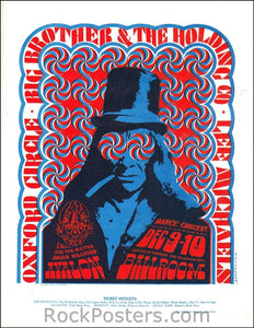 FD38 - Big Brother & The Holding Company Handbill - Avalon Ballroom (09-Dec-66) Condition - Very Good