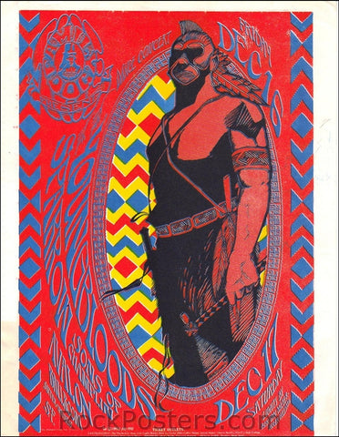 FD39 - The Youngbloods Handbill - Avalon Ballroom (16-Dec-66) Condition - Excellent