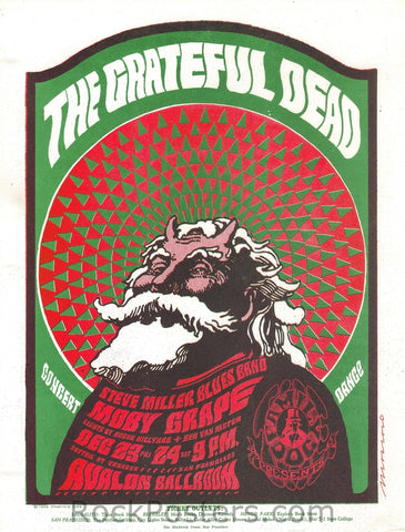 FD40 - The Grateful Dead Handbill - Avalon Ballroom (23-Dec-66) Condition - Near Mint