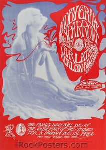 FD43 - Moby Grape Poster - Avalon Ballroom (13-Jan-67) Condition - Excellent