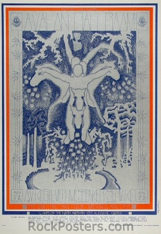 FD76 - Quicksilver Messenger Service Poster - Avalon Ballroom (17-Aug-67) Condition - Excellent