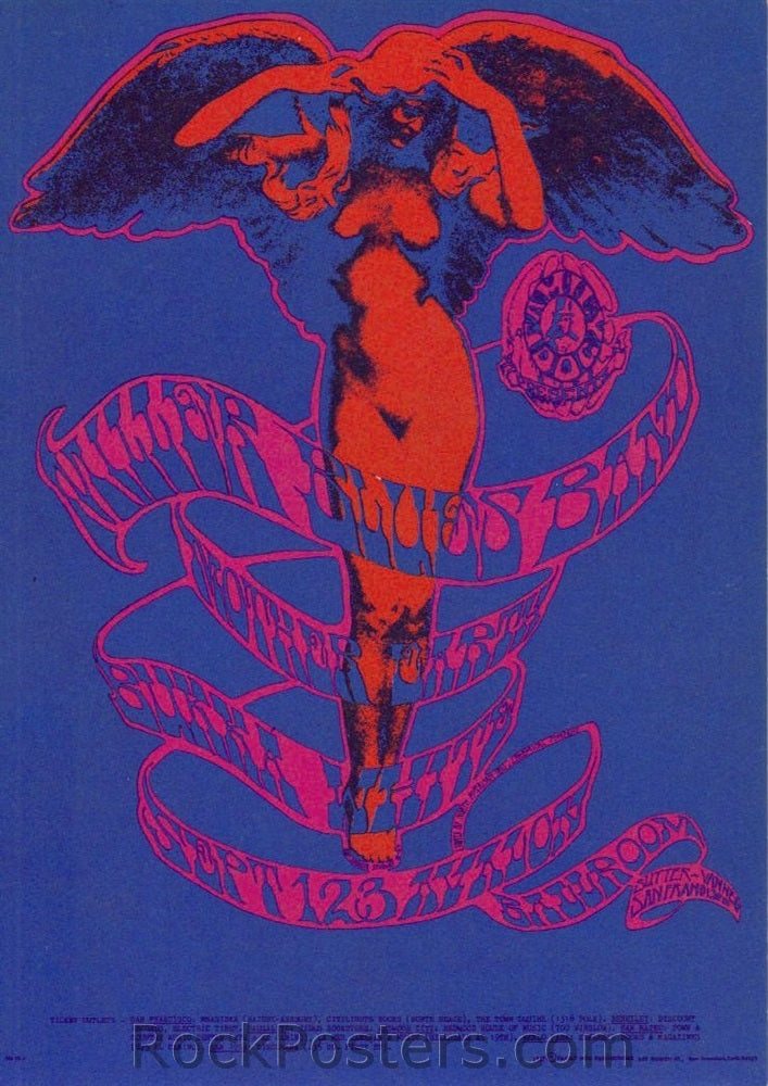 FD78 - Steve Miller Postcard - Avalon Ballroom (01-Sep-67) Condition - Excellent