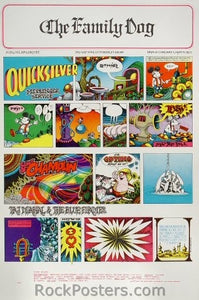 FD89 - Quicksilver Messenger Service Poster - Avalon Ballroom (27-Oct-67) Condition - Excellent