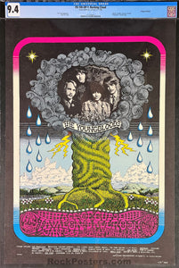 FD-100 - The Youngbloods - 1968 Poster - Avalon Ballroom - CGC Graded 9.4