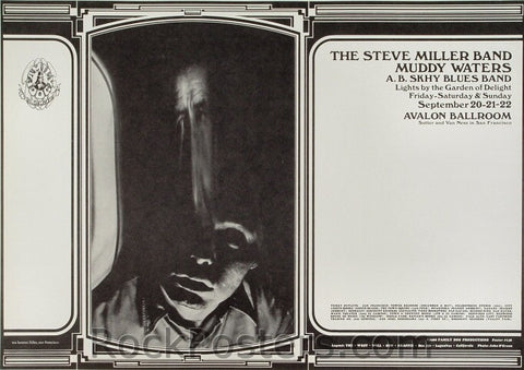 FD138 - Steve Miller Poster - Avalon Ballroom (20-Sep-68) Condition - Near Mint