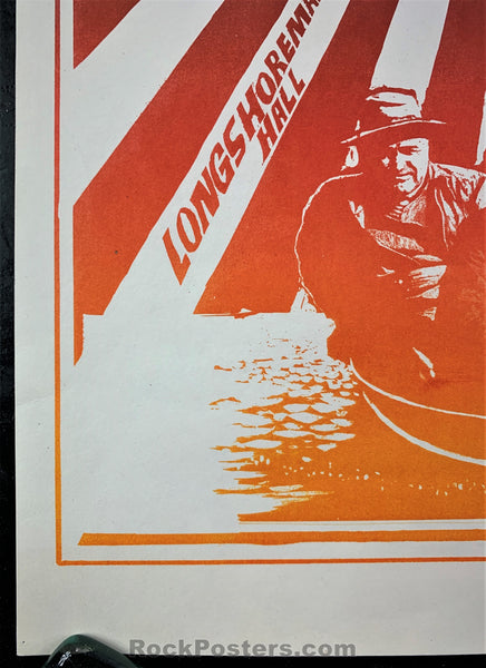 AUCTION - FD20 - Bo Diddley Mouse Signed 5 Men in a Boat 1966 Poster - Avalon Ballroom - Near Mint Minus