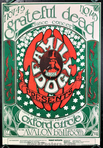AUCTION - FD33 - Grateful Dead 1966 Poster - Avalon Ballroom - Condition - Near Mint Minus