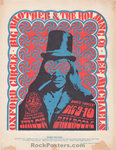 FD38 - Big Brother & The Holding Company Handbill - Avalon Ballroom - Condition - Excellent