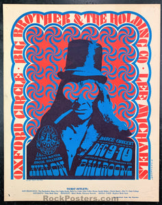 FD38 - Big Brother & The Holding Company Poster - Avalon Ballroom - Condition - Excellent