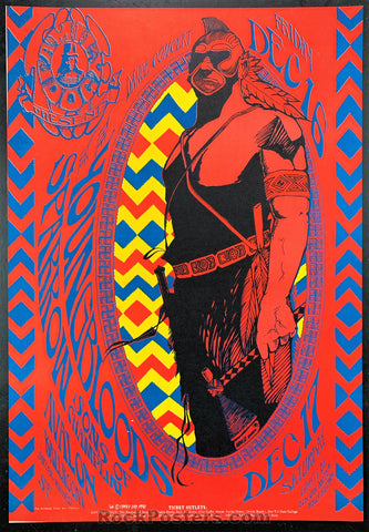 FD39 - The Youngbloods Poster - Avalon Ballroom - Condition - Near Mint