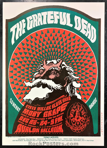 AUCTION - FD40 - Grateful Dead 1966 Poster -  Avalon Ballroom - Condition - Near Mint