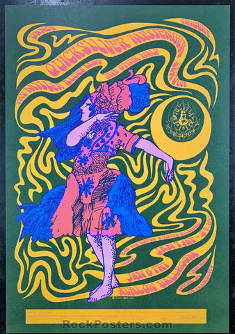AUCTION - FD42 - Quicksilver 1967 Poster - Avalon Ballroom - Condition - Mint