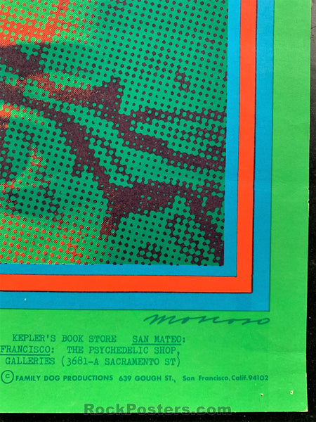 AUCTION - FD-50 - The Doors 1967 Poster - Avalon Ballroom - Excellent
