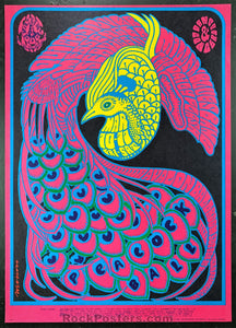 FD51 - Quicksilver Messenger Service Poster - Avalon Ballroom - Condition - Excellent