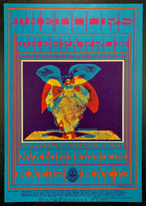 AUCTION - FD 61 - The Doors  1967 Avalon Ballroom Concert Poster - Condition - Near Mint Minus