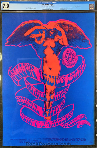 AUCTION - FD-78 - Steve Miller 1967 Poster - Avalon Ballroom - CGC Graded 7.0