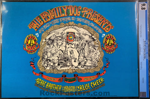 FD-79 - Big Brother & The Holding Company Poster -1601 West Evans - CGC 9.8