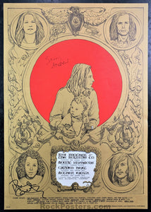 FD-72 - Big Brother & The Holding Company Signed - 1967 Poster - Avalon Ballroom - Near Mint Minus