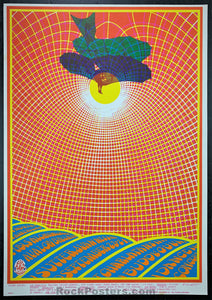 FD83 - Charlatans Poster - Avalon Ballroom - Condition - Excellent
